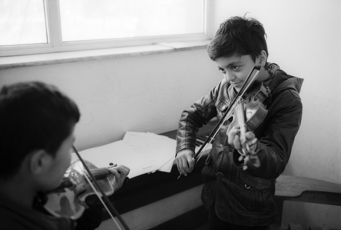 Portrait of the Afghan National Institute of Music in Kabul, 2017