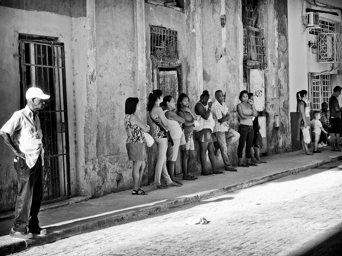 In the streets of Cuba