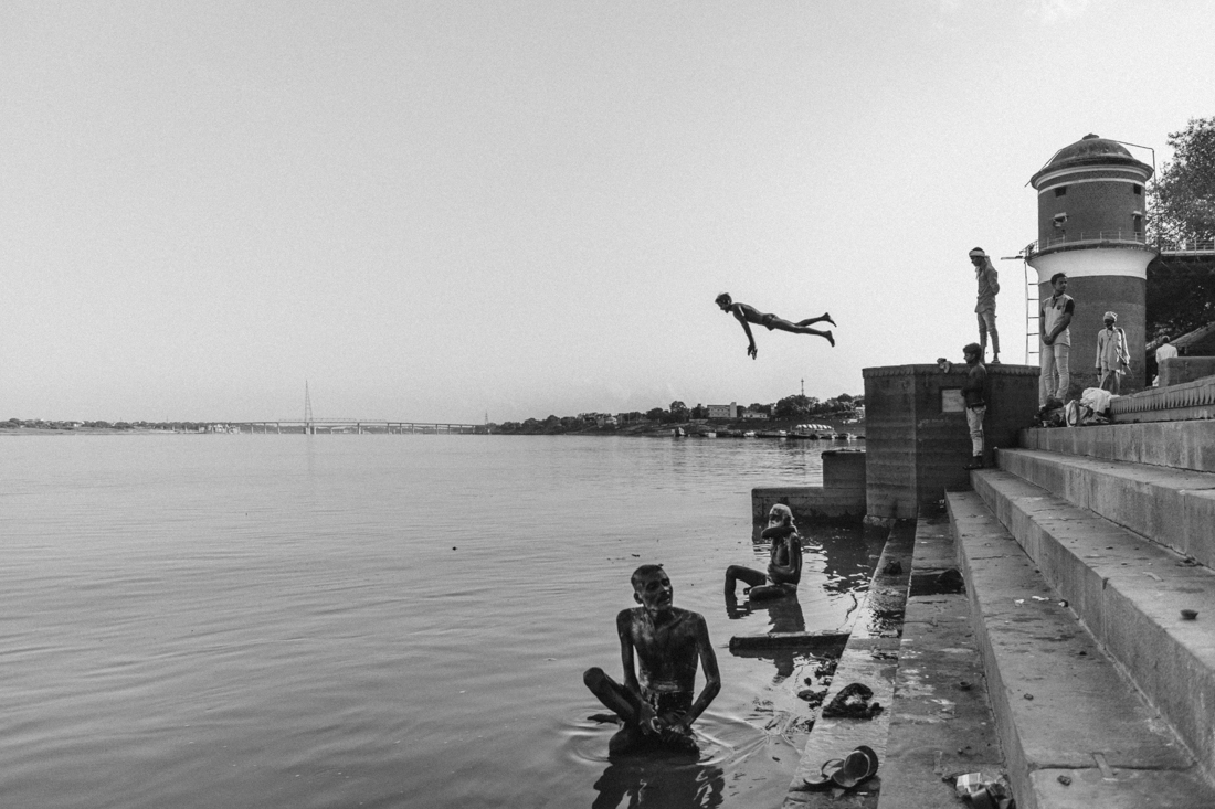 JUMP TO THE GANGES