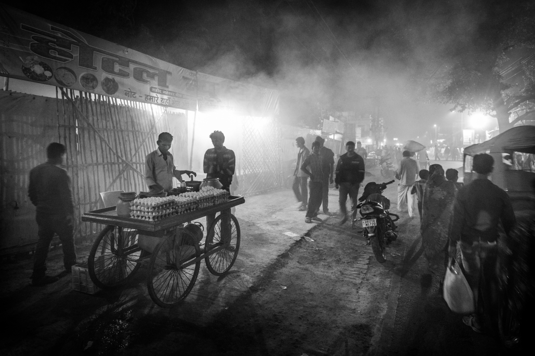 Street food at Sonepur during Cattle fair period