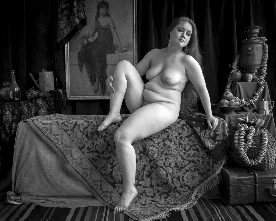зрелая пышнотелая женская натура фото