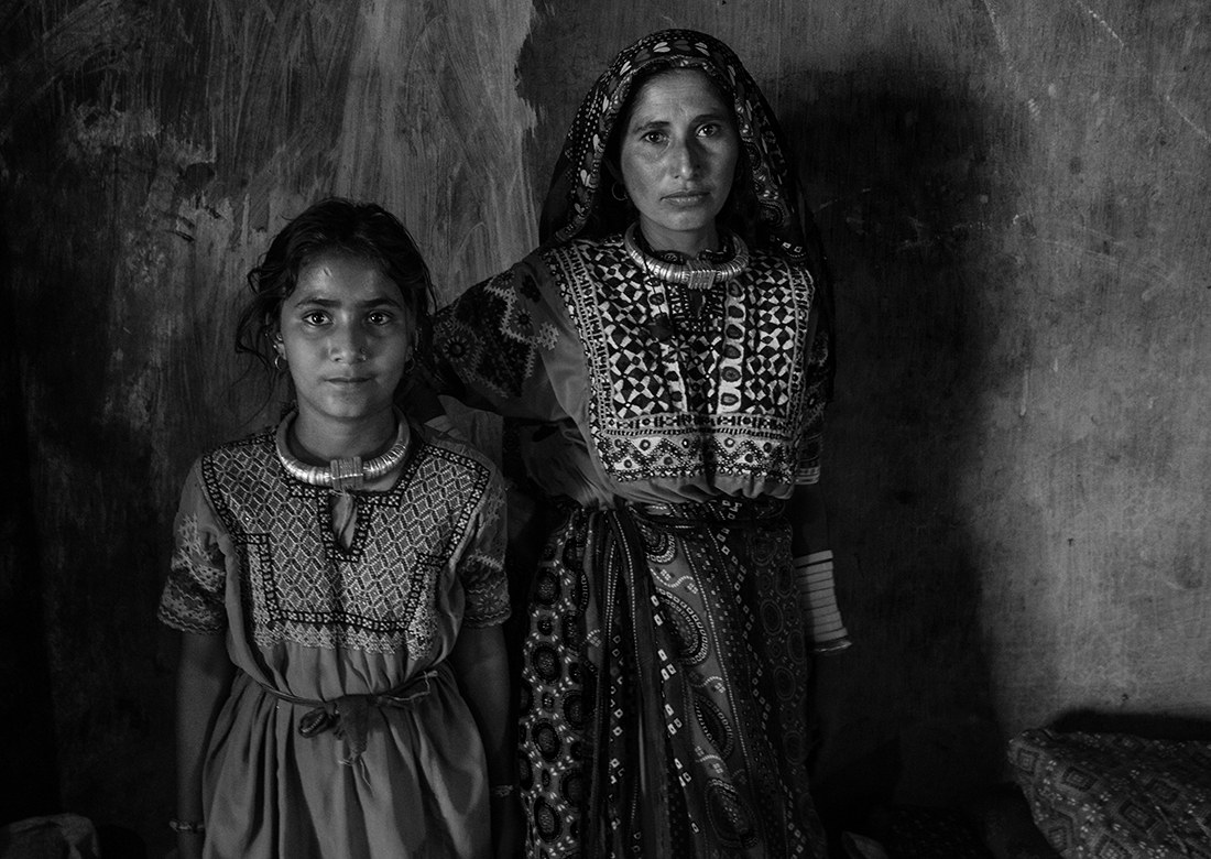 Kutch woman with Safina