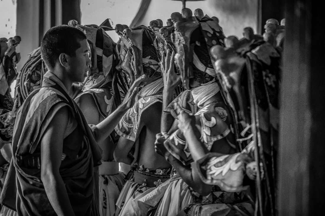 Bhutan Monochrome Series