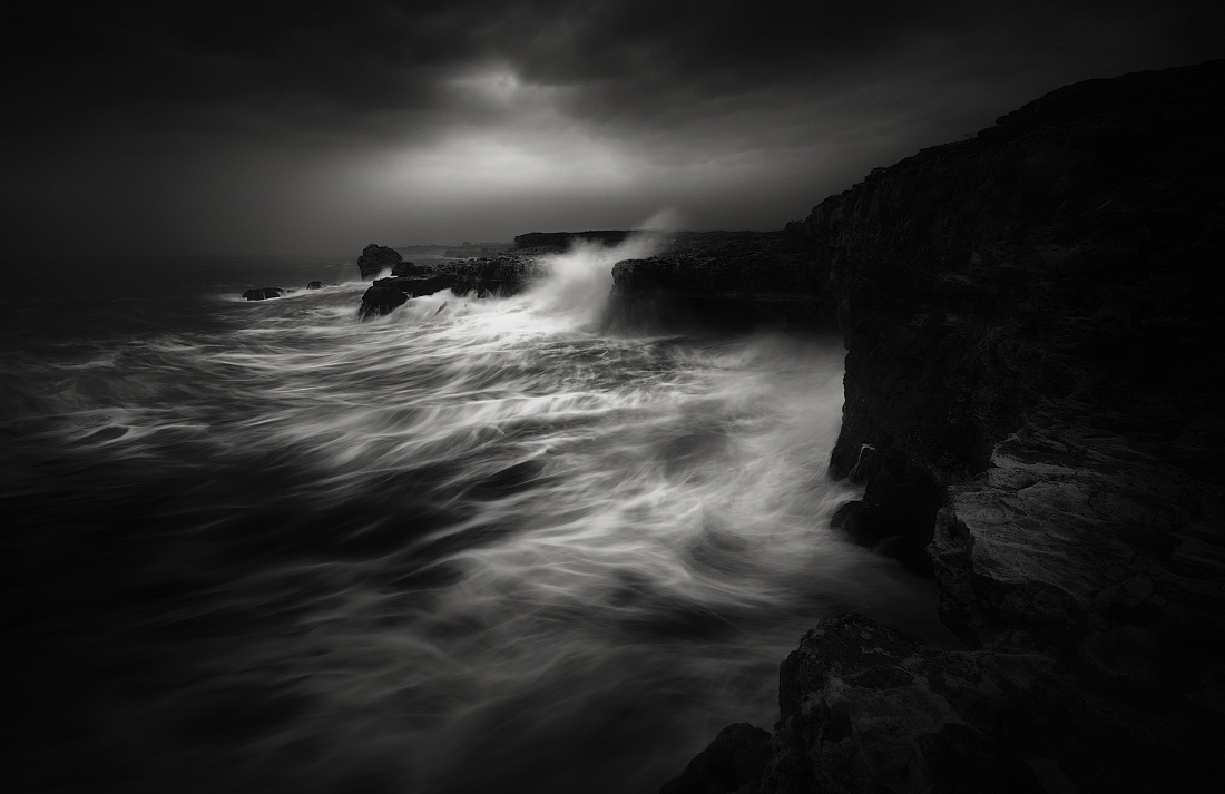 The Stormy Black Sea