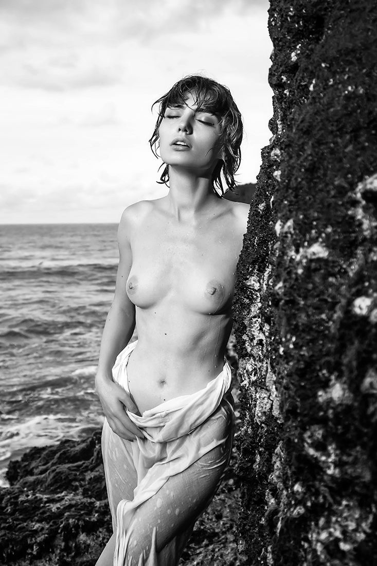 nude in the landscape...