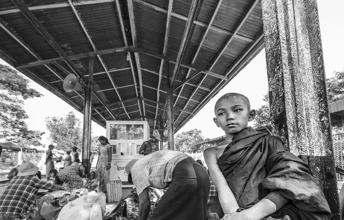 Buddhist way of life in Myanmar