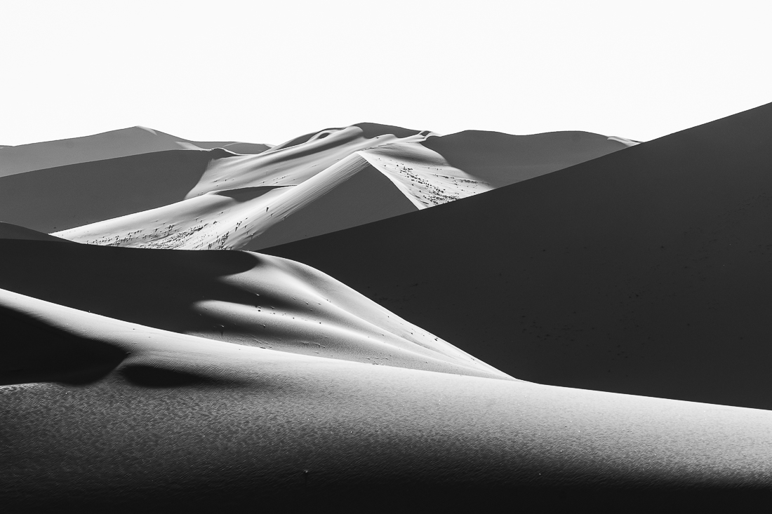 Light effects in Sahara