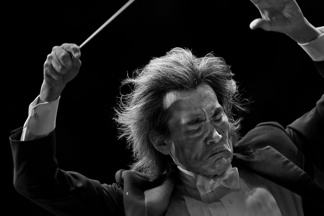 Richard Wagner's Valkyrie in close-ups by conductor Kent Nagano