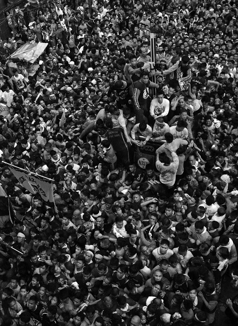 The Feast of Black Nazarene in Manila
