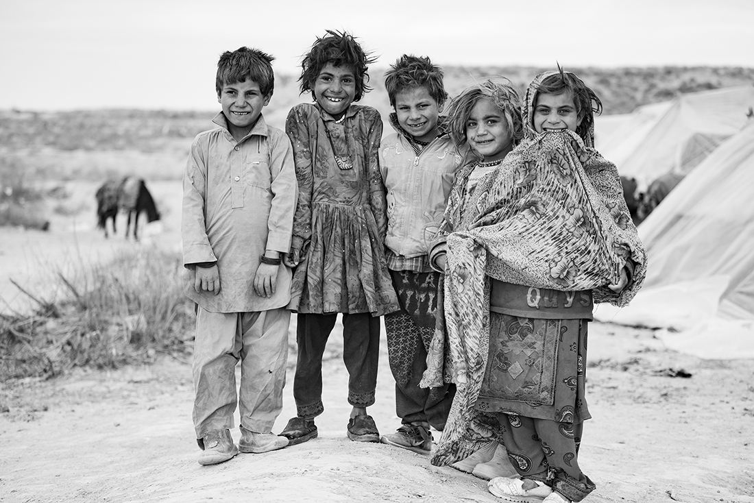 The children of Iran's gypsies: a lost childhood.