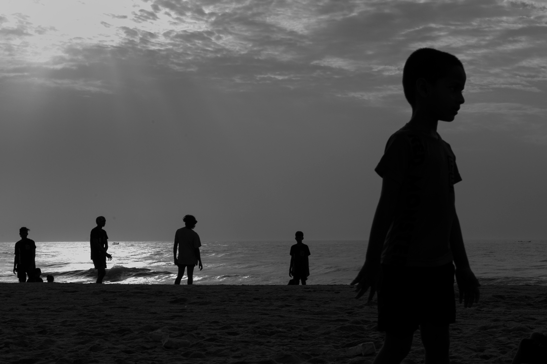 Life at Marina Beach