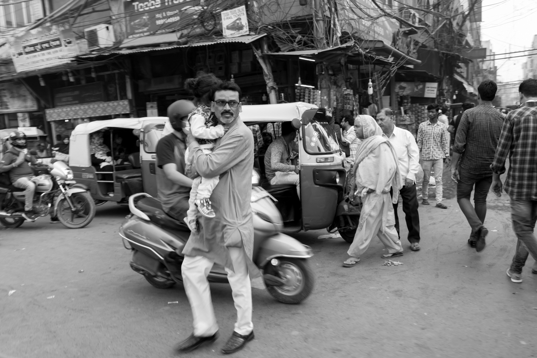 On the streets of India