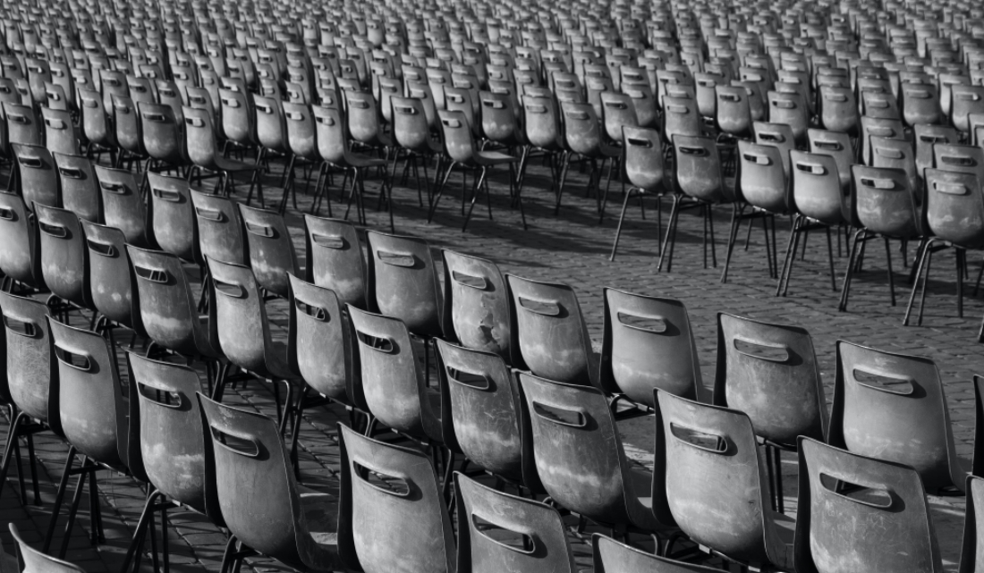 Chairs, nothing else than chairs