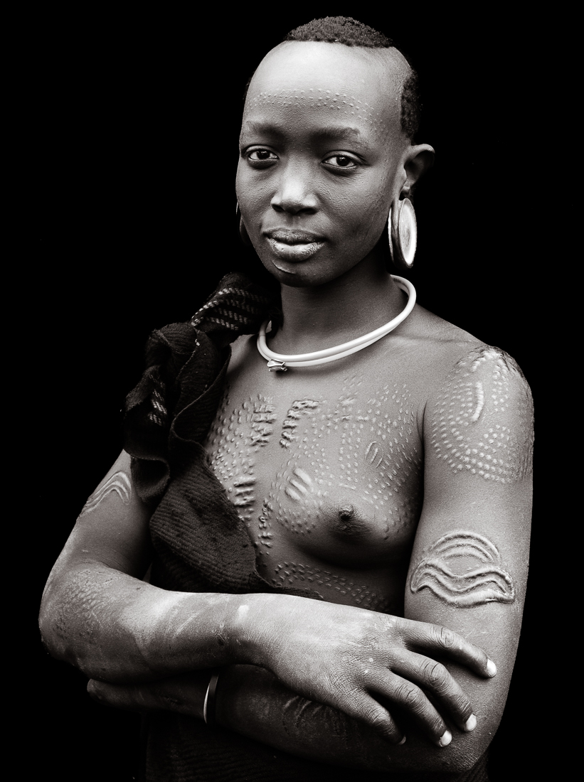 The Suri Tribe of the Omo Valley.