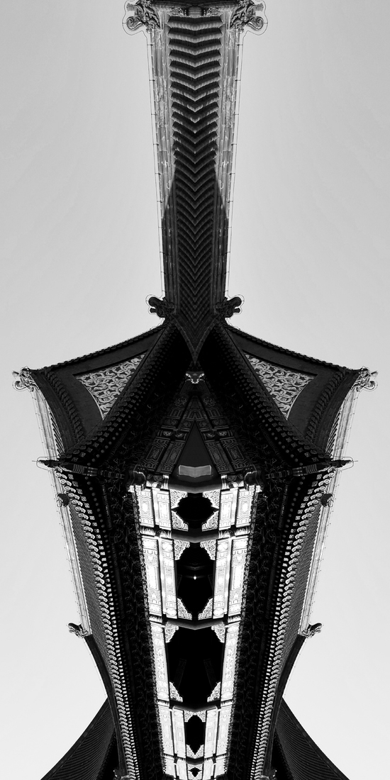Abstract architecture of China