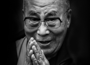 The 14th Dalai Lama Blesses Me