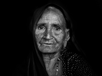 Bishnoi Old Lady
