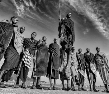 People photography: Masai tribe Dance