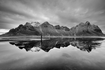 reflection at stokksnes ,Iceland
