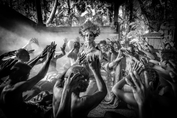 Kecak Dancing - The Ramayana Monkey Chant - Bali, Indonesia