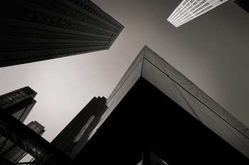 New York / Looking up