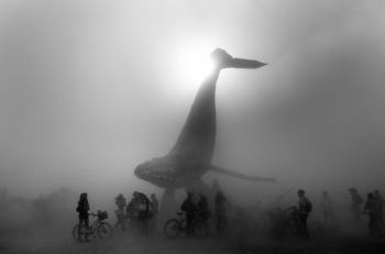Burning Man – The Space Whale
