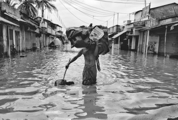 Flood of West Bengal , India