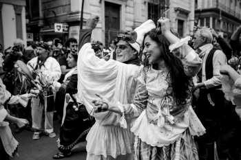 Folklore in Naples