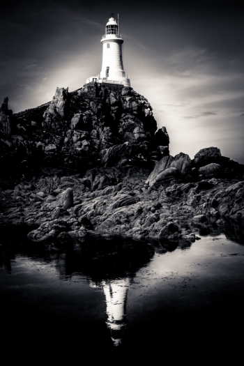 La Corbiere Lighthouse, Jersey.