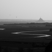 The bay of Mont-Saint-Michel