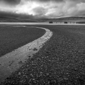 Iceland Black And White