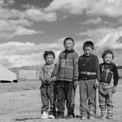 Five Years Apart ; A Boy's Grow Up in Western Mongolia